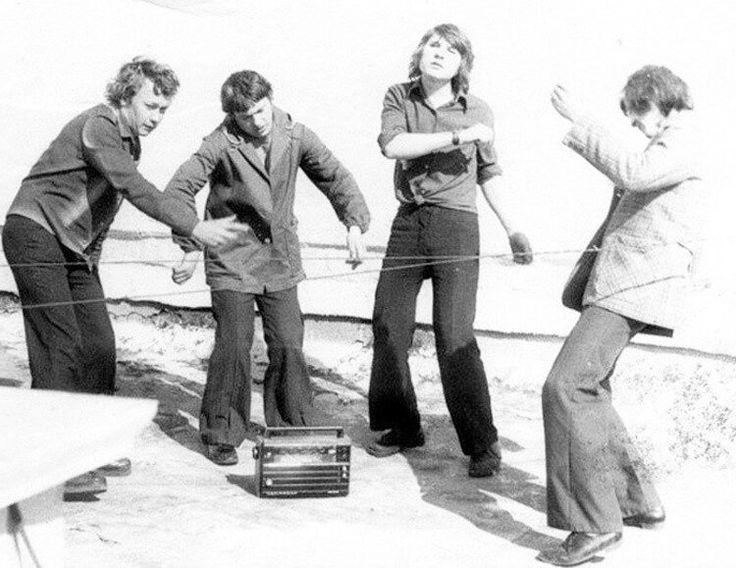 Группа Smokie и «хиппующие» клёши 1977
