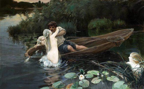 """рассказ Александра Непомнящих """"В озере купалася русалка.."""""""